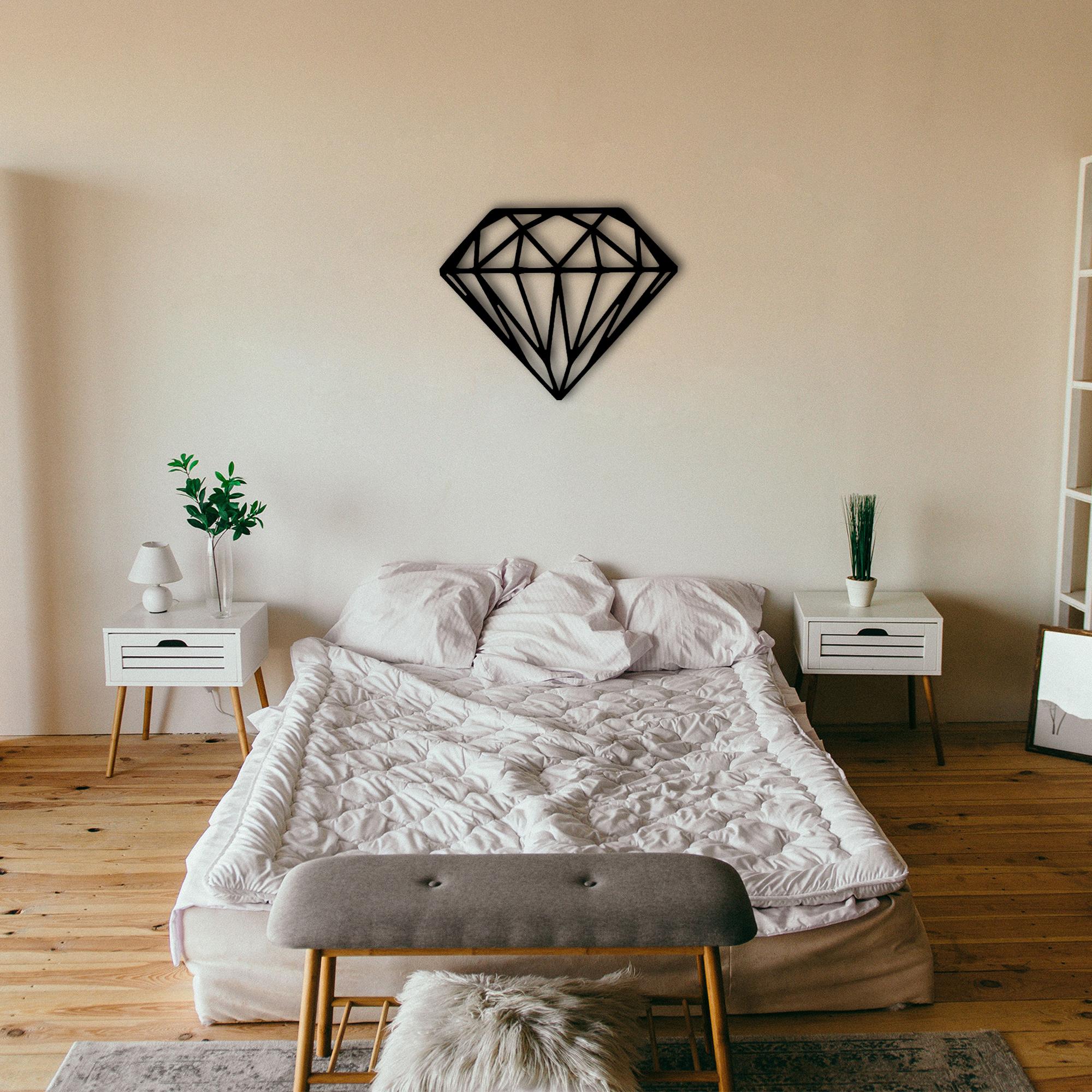 Diamond – Metal Tablo