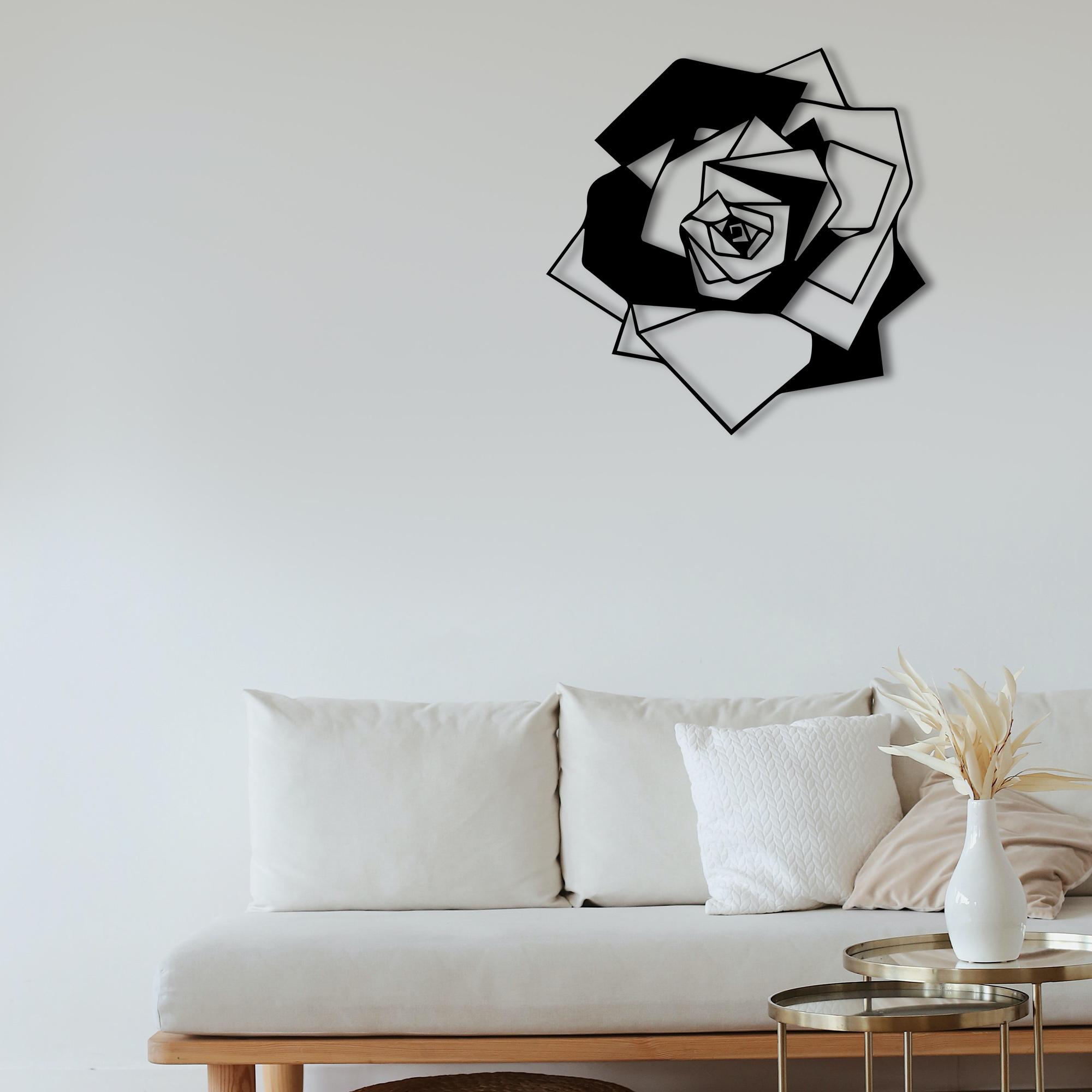 Rose – Metal Tablo