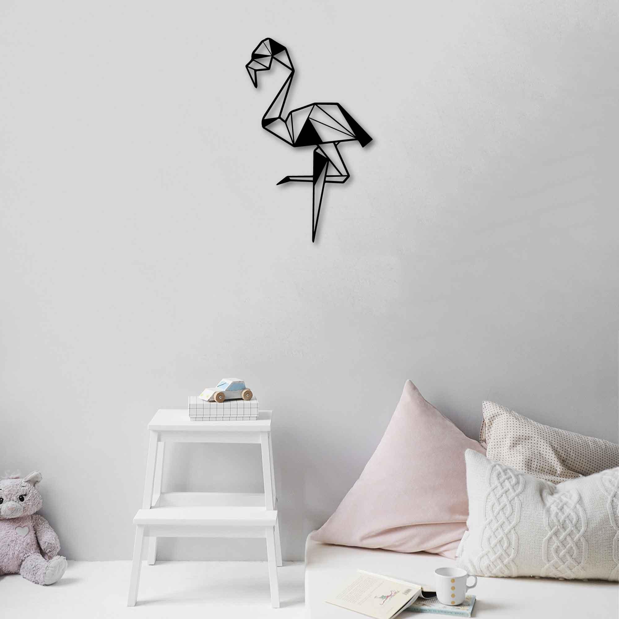 Flamingo – Metal Tablo