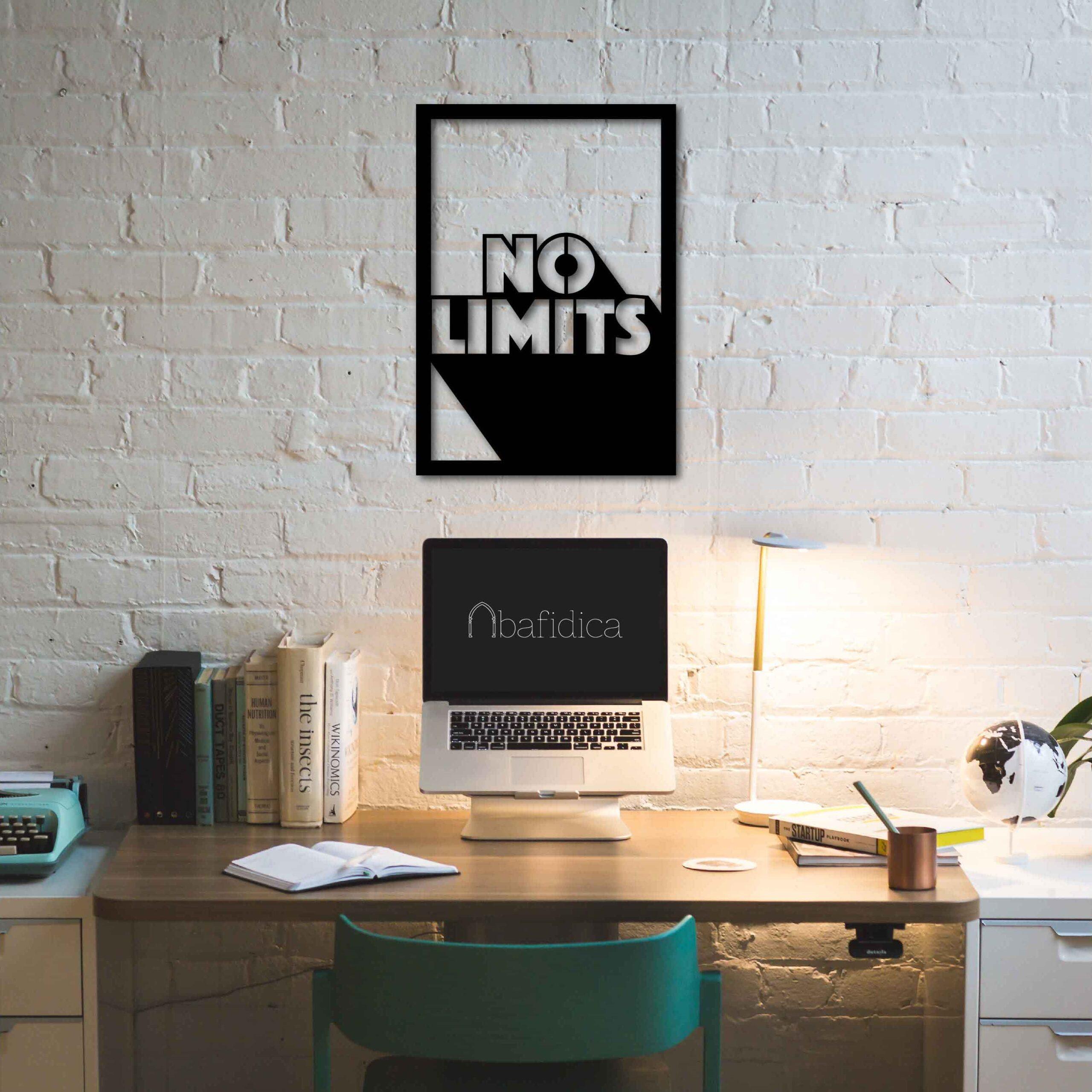 No Limits – Metal Tablo