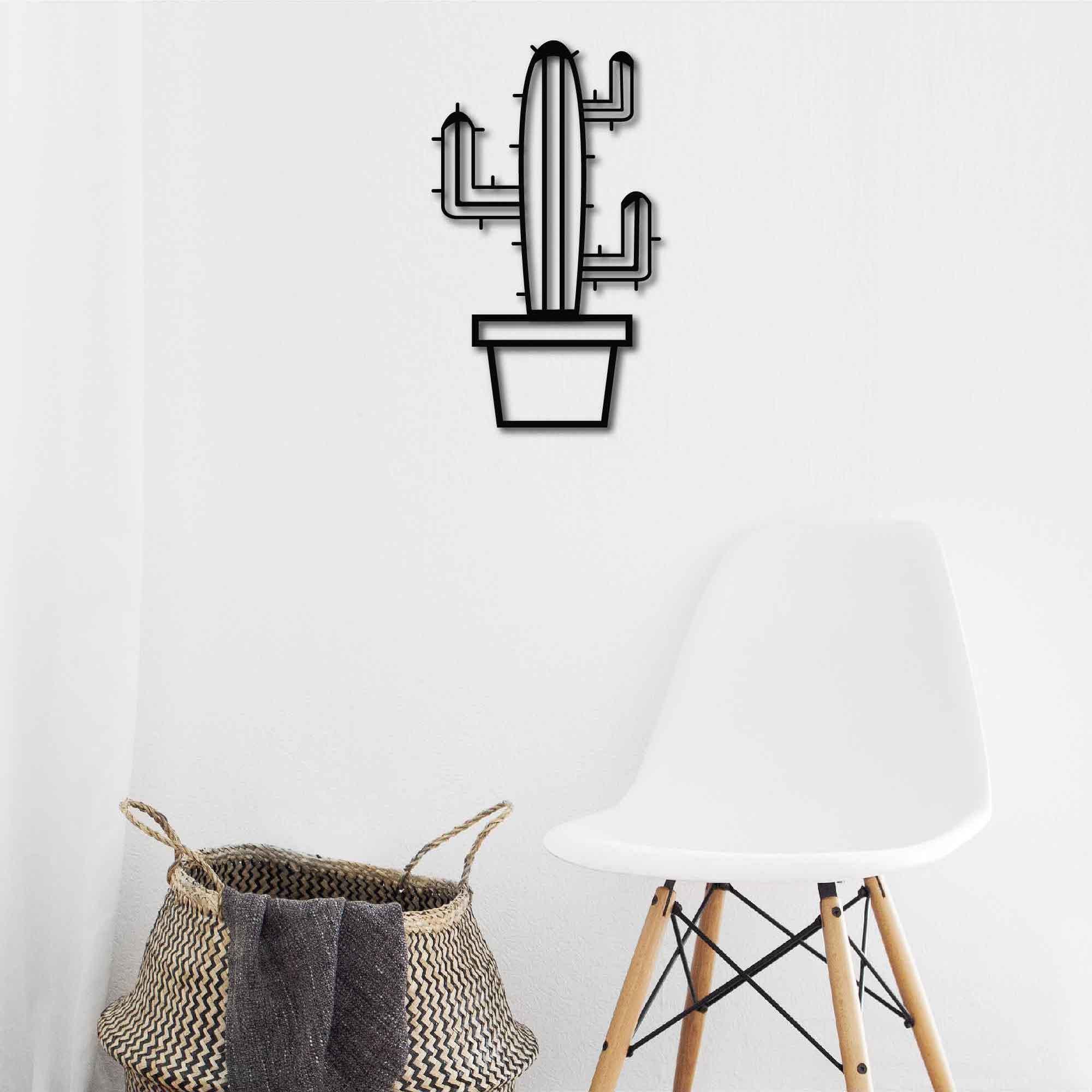 Cactus III – Metal Tablo