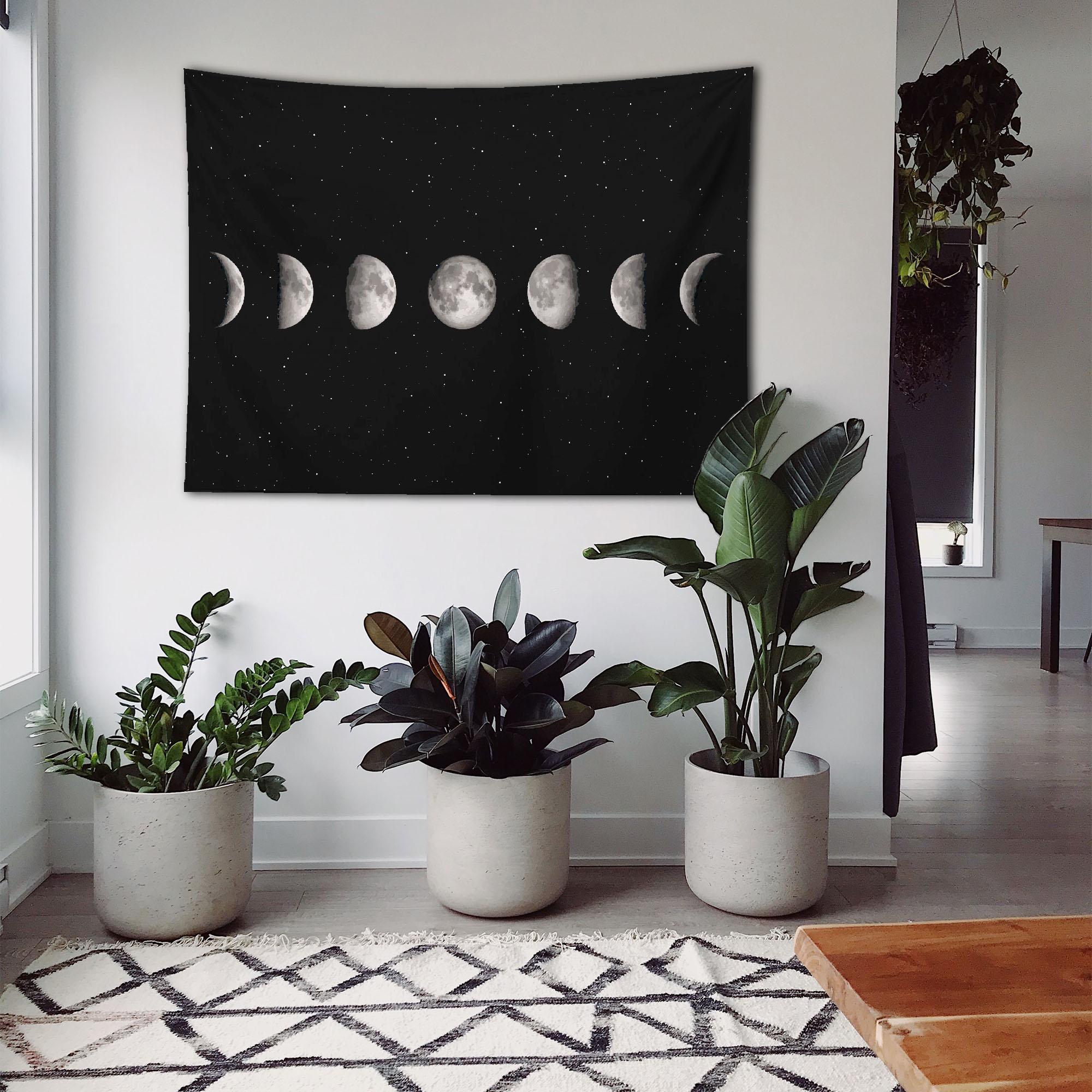 Ayın Evreleri Duvar Örtüsü